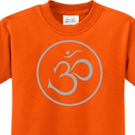 Thin OM Kids Yoga Shirts