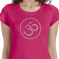 Thin OM Ladies Yoga Shirts