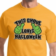This Ghoul Loves Halloween Mens Halloween Shirts