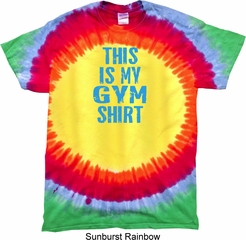 This Is My Gym Shirt Premium Tie Dye Shirt
