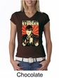 Three Stooges Ladies T-shirt V-neck Viva La Stooges Big Moe Shirt