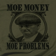 Three Stooges Moe Money Shirts
