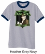 Three Stooges Ringer Shirt Funny Moe Jito Adult Shirt