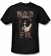 Three Stooges Shirt Bad Moe Fo Funny Adult Black Tee T-shirt