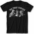 Three Stooges Shirt - Cheers Adult Black Tee