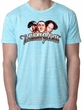 Three Stooges Shirt Funny Faces Mens Burnout Tee T-Shirt