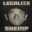 Three Stooges Shirt Legalize Shemp Black Long Sleeve Tee T-Shirt