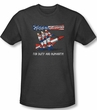 Three Stooges Shirt Mission Accomplished Adult Heather Royal Tee T-Shirt