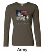 Three Stooges Shirt Rushmorons Ladies Long Sleeve Tee T-Shirt