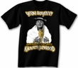 Three Stooges T-shirt Curly in the Knucklehood Adult Black Tee Shirt