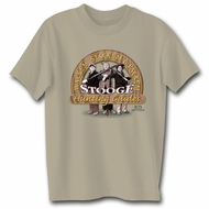 Three Stooges T-shirt Hunting Guides Adult Funny Tee Shirt
