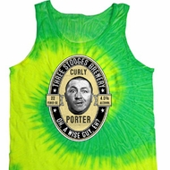 Three Stooges Tank Top Curly Porter Tie Dye Tanktop