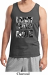 Three Stooges Tank Top Larry Curly Moe Tanktop