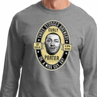 Three Stooges Tee Curly Porter Long Sleeve