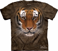 Tiger Shirt Tie Dye T-shirt Warrior Adult Tee
