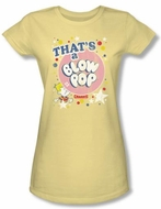 Blow Pop Juniors T-Shirts - That's A Blow Pop Banana Tee