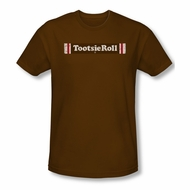 Tootsie Roll Shirt Slim Fit Logo Coffee T-Shirt
