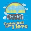 Tootsie Roll T-Shirts – Jingle Adult Turquoise Tee