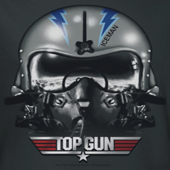 All Star Automotive >> Top Gun Iceman Helmet Shirts - Top Gun Shirts