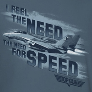 Top Gun Need For Speed Shirts