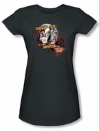 Twilight Zone Juniors T-Shirt - The Norm Charcoal