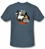 Twilight Zone Kids T-Shirt - From Another Galaxy Slate Blue Youth