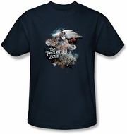 Twilight Zone Kids T-Shirt - Science And Superstition Navy Blue Youth