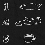 Twin Peaks Coffee Log Fish Shirts