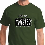 Twisted Mens Yoga Shirts