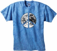Tye Dye T-shirts - Peace Earth Tie Dye Shirts Tees