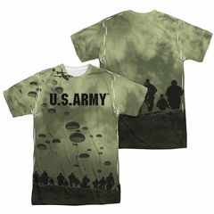 U.S. Army Shirt Air To Land Sublimation Shirt Front/Back Print