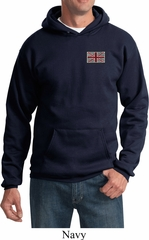Union Jack Patch Pocket Print Hoodie