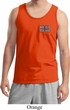 Union Jack Patch Pocket Print Mens Tank Top