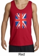 Union Jack Tank Top British UK Flag Big Print Adult Tanktop