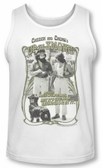Up In Smoke Tank Top Labrador White Tanktop