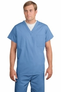 Upscale Medical Uniform Reversible V-Neck Nursing Scrub Top Shirt