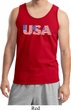 USA 3D Mens Tank Top