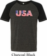 USA 3D Mens Tri Blend Shirt