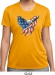 USA Eagle Flag Ladies Moisture Wicking Shirt