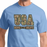 USA Home of the Brave Shirts
