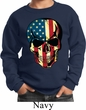 USA Skull Kids Sweatshirt