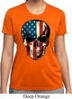 USA Skull Ladies Moisture Wicking Shirt