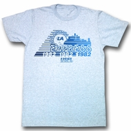 USFL Shirt Los Angeles Express Adult Light Blue Tee T-Shirt