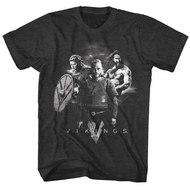 Vikings Shirt Family Charcoal T-Shirt