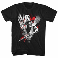 Vikings Shirt Floki Black T-Shirt