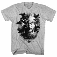 Vikings Shirt Ragnar Athletic Heather T-Shirt