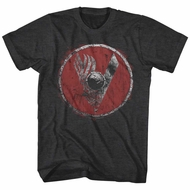 Vikings Shirt Shield Charcoal T-Shirt