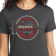 Vintage Dodge Sign Ladies Dodge Shirts
