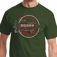 Vintage Dodge Sign Mens Dodge Shirts
