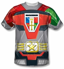 Voltron Shirt Costume Sublimation T-Shirt